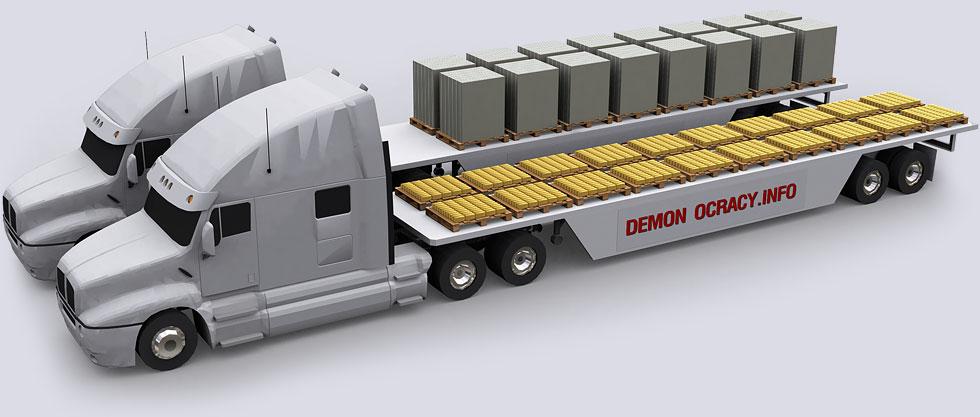 demonocracy-gold-truck_load-vs-cash