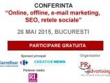Vino sa discutam despre SEO si marketing digital in cadrul unei noi conferinte PR2Advertising.ro