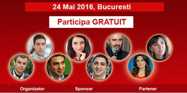 "Participa gratuit la conferinta ""Branduri si branding"""